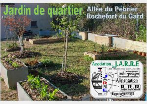 Jardin aromatique de quartier - vue ensemble - Association la Jarre - 27-03-2017
