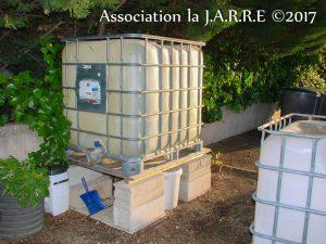 Tonne à eau - Jardin de Quartier 07 mai 2017