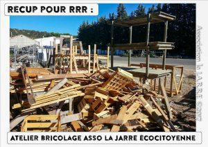 Récup Botanic au profit de association la jarre écocitoyenne - septembre 2017 avant emportée