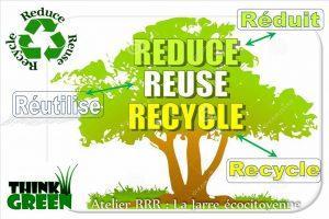 RRR - réduit - réutilise - recycle - association la jarre écocitoyenne