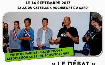 Le débat - documentaire DEMAIN - association la jarre écocitoyenne - 14-10-2017