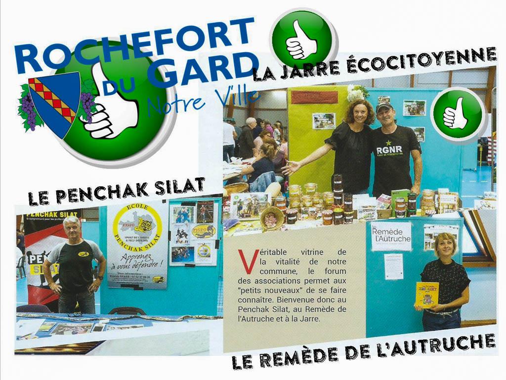 3 nouvelles associations 2017 - Rochefort du Gard - la jarre écocitoyenne