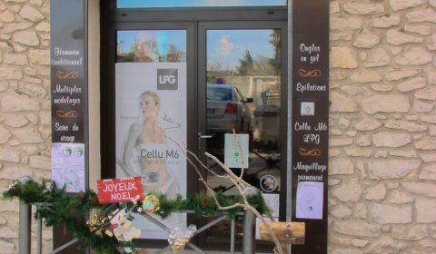 Renne pour institut de beauté de rochefort du gard - par la jarre écocitoyenne