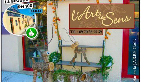 les rennes du fleuriste de art des sens - rochefort du gard - association la jarre écocitoyenne - 18-11-2017
