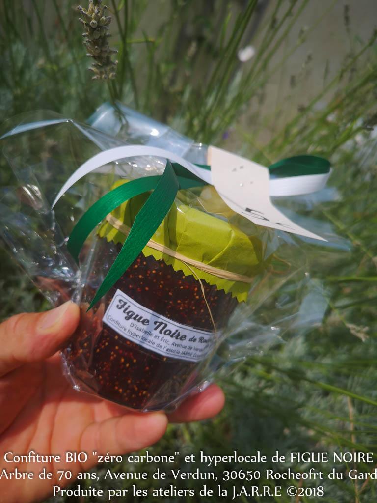 Confiture de figue noire - association la Jarre écocitoyenne