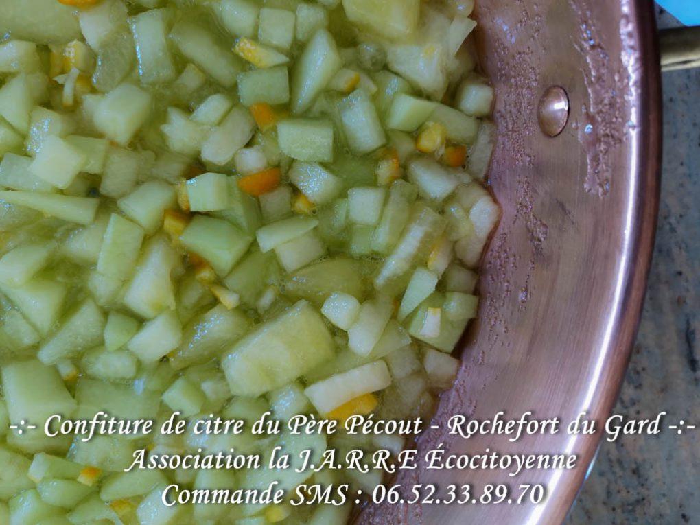 Gingérine - citre - compotage - asso la jarre