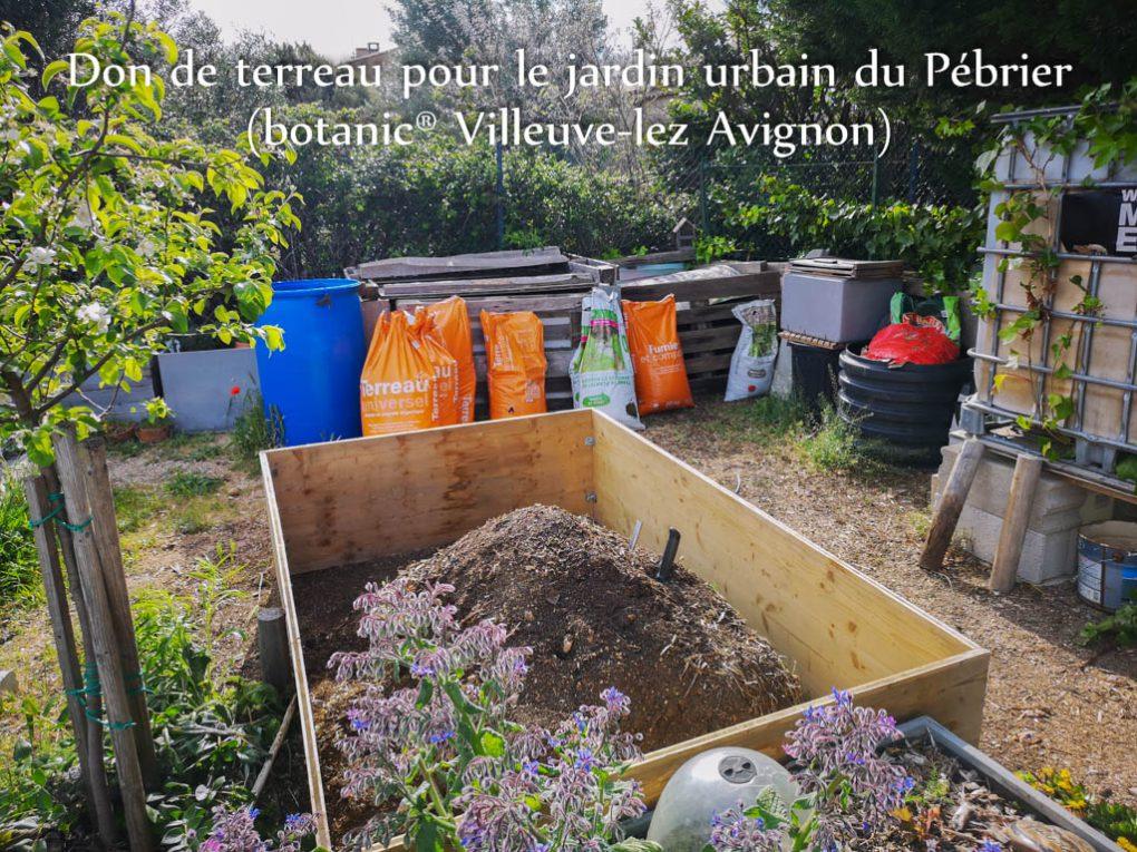 Réfection bac cuve serre - jardin urbain du Pébrier - Rochefort du Gard