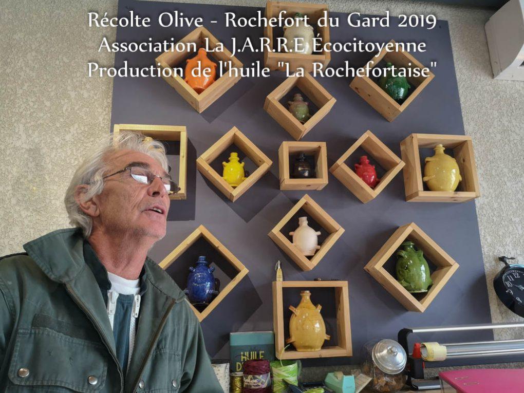 """Moulin de ROMANOU Thézier - décors et présentation de petites emphores des """"consciences"""" - idée cadeau"""