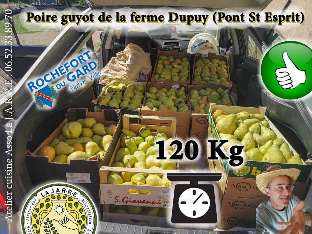 Atelier-cuisine---120kg-poire-23-08-2020---association-la-jarre