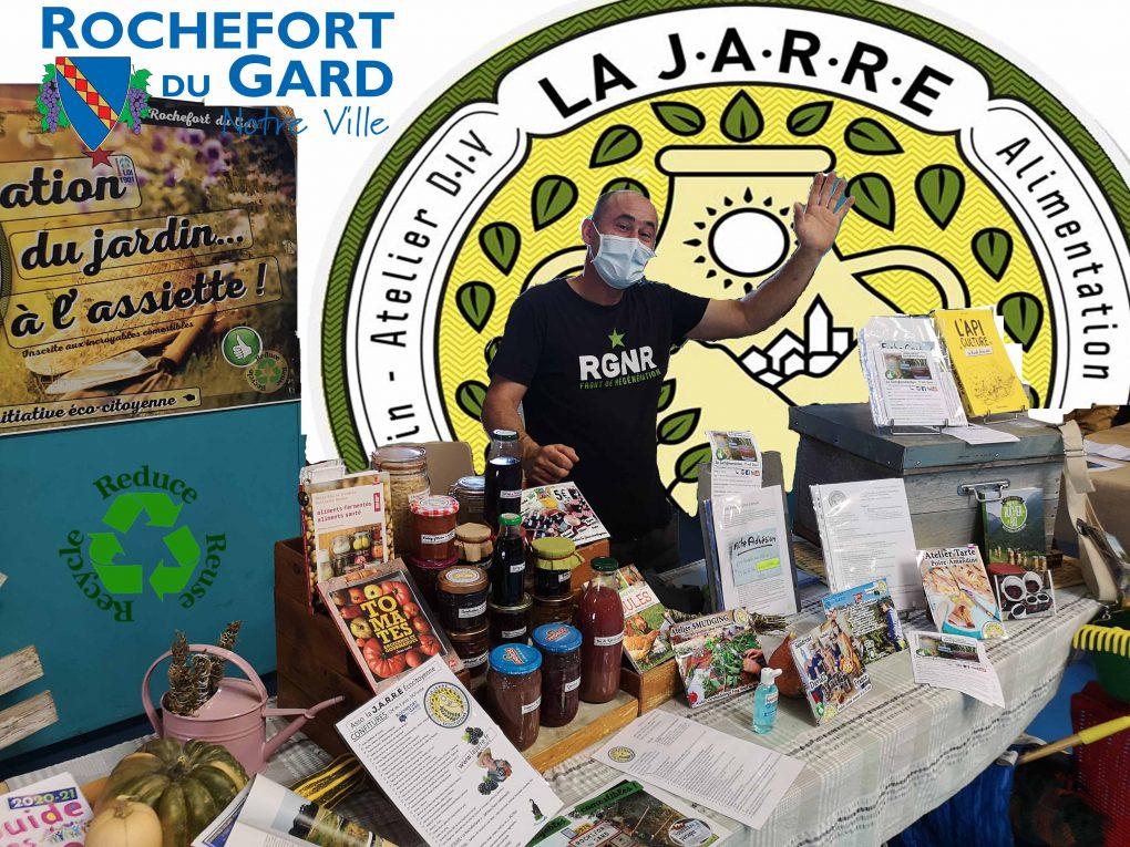 David Zicola Président de l'association la Jarre écocitoyenne à Rochefort du Gard