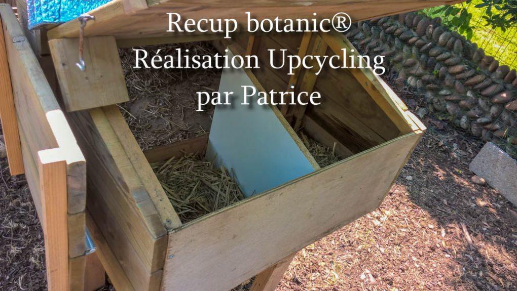 Poulailler en planche de Récup_botanic®_realisation upcycling par Patrice3