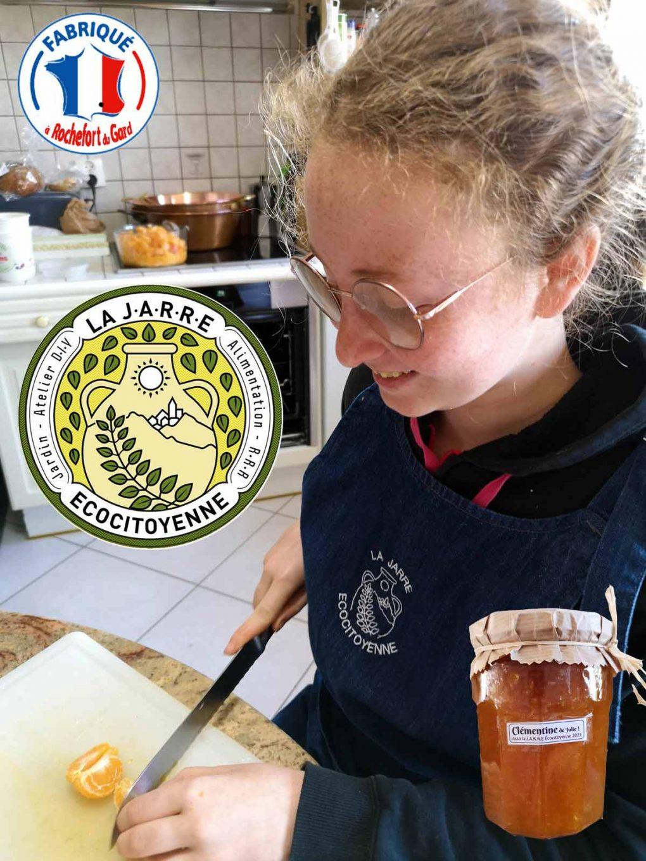 Production de confiture de clémentine - Stagière Julie - 19-04-2021
