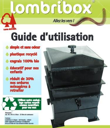 Lombricomposteur LombriBOX association la JARRE Rochefort du Gard